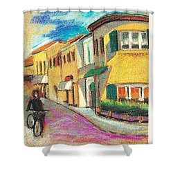 La Bichicletta Shower Curtain