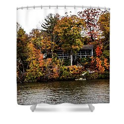 Lake Colors Shower Curtain