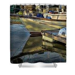 Lake Dardanelle Marina Shower Curtain