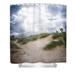Lake Michigan Sand Dunes Shower Curtain