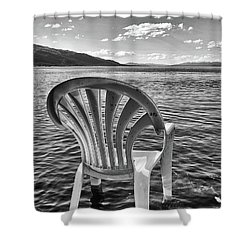 Lakeside Waiting Room Shower Curtain