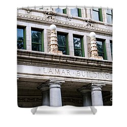 Lamar Building - Augusta Ga Shower Curtain