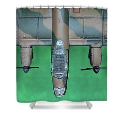 Lanc Model Shower Curtain