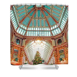 Leadenhall Market Shower Curtain