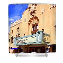Lensic Performing Arts Center Shower Curtain