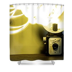 Lights, Camera, Action Shower Curtain