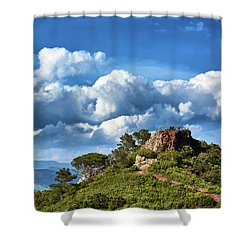 Like Touching The Sky Shower Curtain
