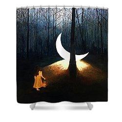 L'il Luna Shower Curtain