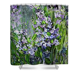 Lilac Dream Shower Curtain