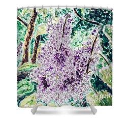 Lilac Dreams Shower Curtain