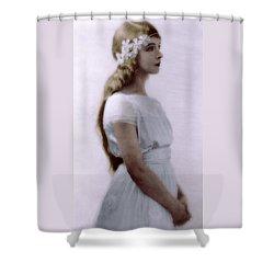 Lillian Gish Colorized Shower Curtain