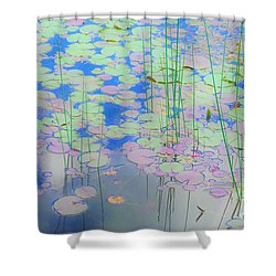 Lily Pads1 Shower Curtain