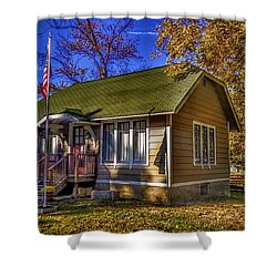 Lincoln Park History Museum Shower Curtain