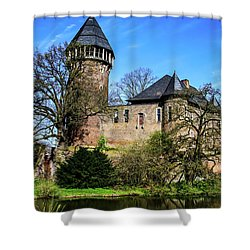 Linn Castle Shower Curtain