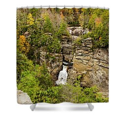 Linville Falls - Wide View Shower Curtain
