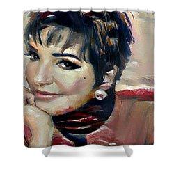 liza Minelli Shower Curtain