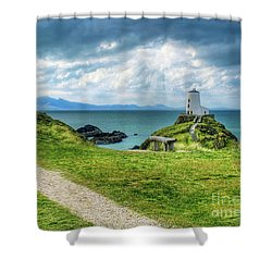 Llanddwyn Island Shower Curtain