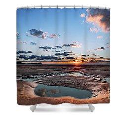 Llangennith Beach Shower Curtain