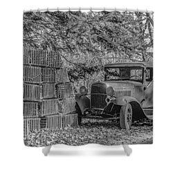 Lobster Pots And Truck Shower Curtain