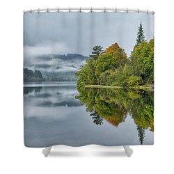 Loch Ard In Scotland Shower Curtain