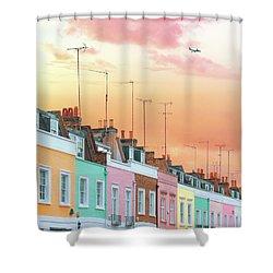 London Dreams Shower Curtain