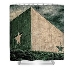 Lone Star  Shower Curtain by Tony Grider