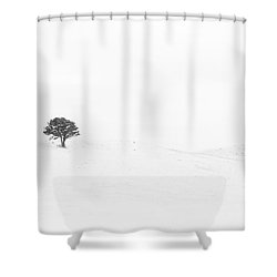 Lonely Together Shower Curtain