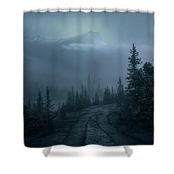 Lonely Trails Shower Curtain