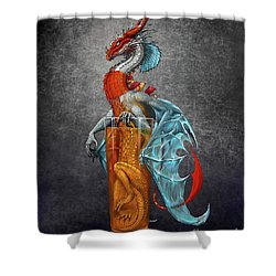 Long Island Ice Tea Dragon Shower Curtain