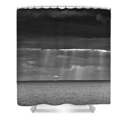 Shower Curtain featuring the photograph Long Way Home by Ricky L Jones