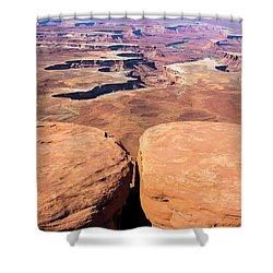 Look Out Point Shower Curtain