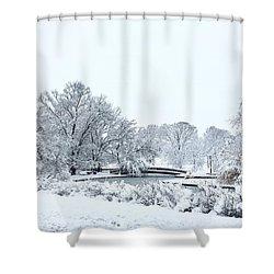 Loose Park, Kansas City Shower Curtain