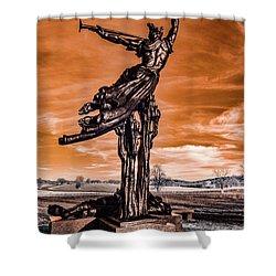 Louisiana Monument Shower Curtain