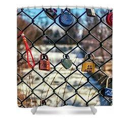 Love Locks Shower Curtain