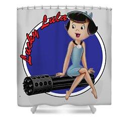 Lucky Lula Shower Curtain