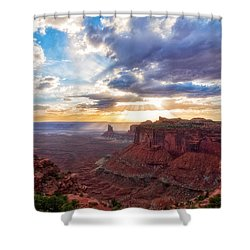 Luminous Shower Curtain
