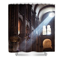Shower Curtain featuring the photograph Lux by Alex Lapidus