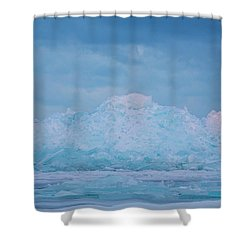 Mackinaw City Ice Formations 2161802 Shower Curtain