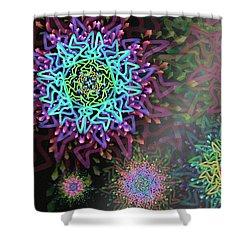Magic Remix Shower Curtain