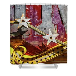 Shower Curtain featuring the photograph Magic Wand by Skip Hunt