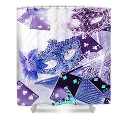 Magical Masquerade Shower Curtain