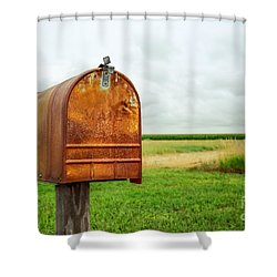 Mailbox  Shower Curtain