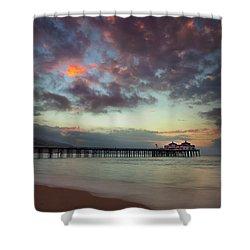Malibu Pier IIi Shower Curtain