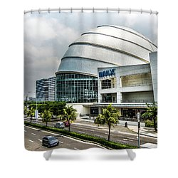 Shower Curtain featuring the photograph Mall Of Asia 4 by Michael Arend