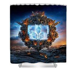 Mandalas 2 Shower Curtain