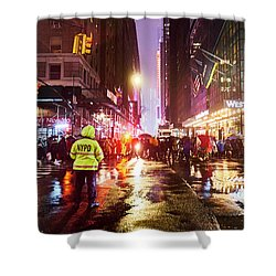 Manhattan Nye Shower Curtain