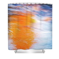 Maple Reflection Fall Shower Curtain
