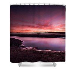 Marazion Sunset Shower Curtain