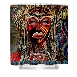 Mardi Gras 2019 Shower Curtain