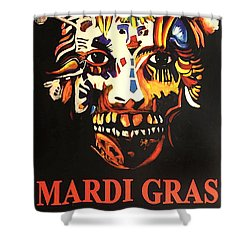 Mardi Gras Spirit 2013 Shower Curtain